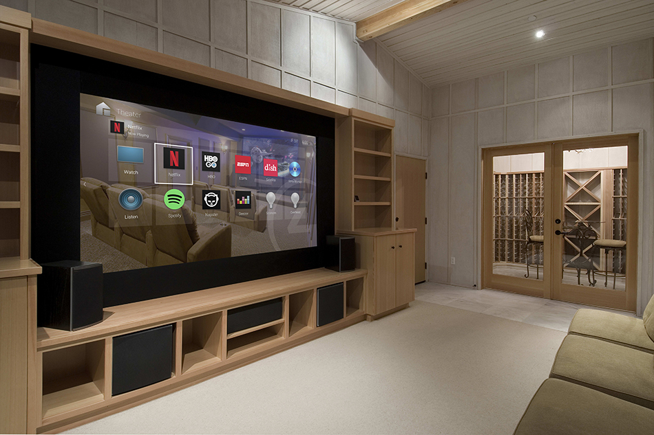 Netflix Streaming into Bedroom with Control4