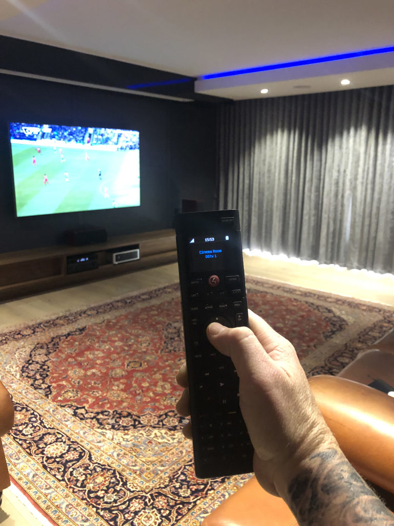 Monitor Audio Home Cinema with Control4 Integration