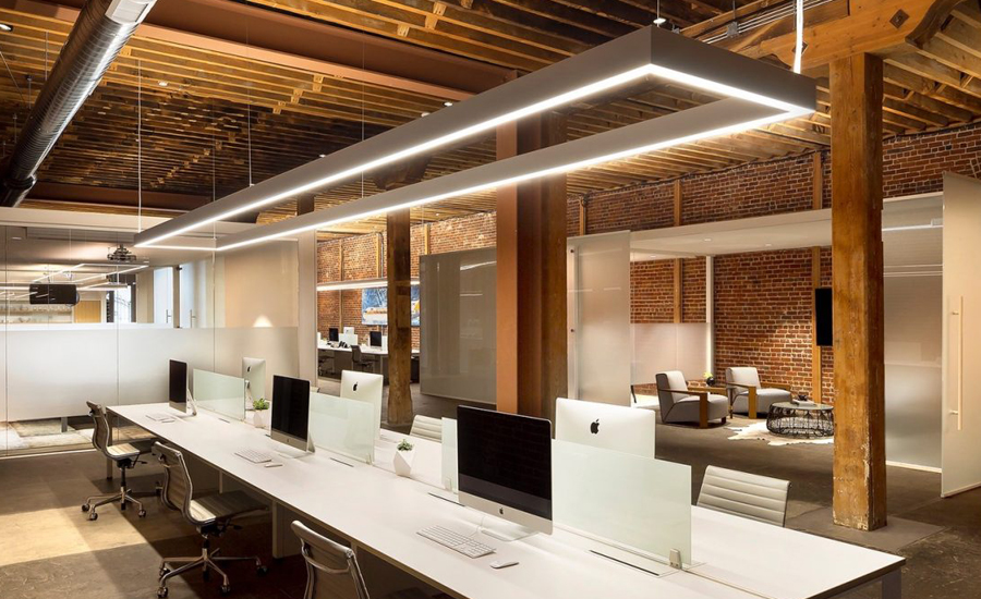 Human Centric Lighting Office Workspace